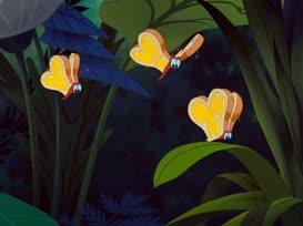 - Curious butterflies. - [female] Bread-and-butterflies.