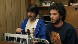 It's half keyboard and half guitar.