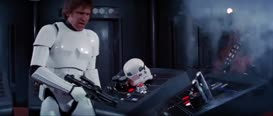 Boring conversation anyway. Luke, we're gonna have company!