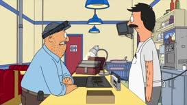 "Quiz for What line is next for ""Bob's Burgers - S08E10 The Secret Ceramics Room of Secrets""?"