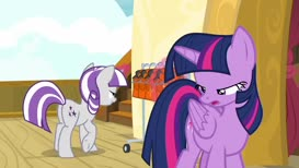 Oh. Well, as long as Shining Armor gets to race, I'm happy.