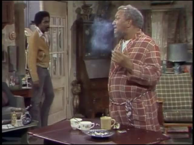 - Hey, Pop. - Lamont, you bring cigarettes?