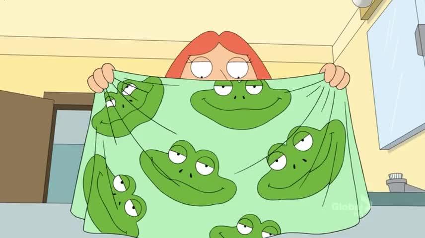 Hello, Mr. Frog...