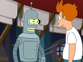 If Calculon's wedding doesn't go just right...