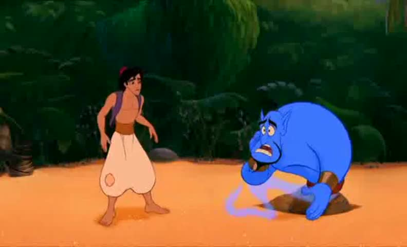 Genie, wake up and smell the hummus.