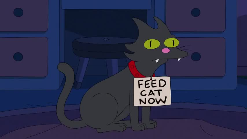 (meows)