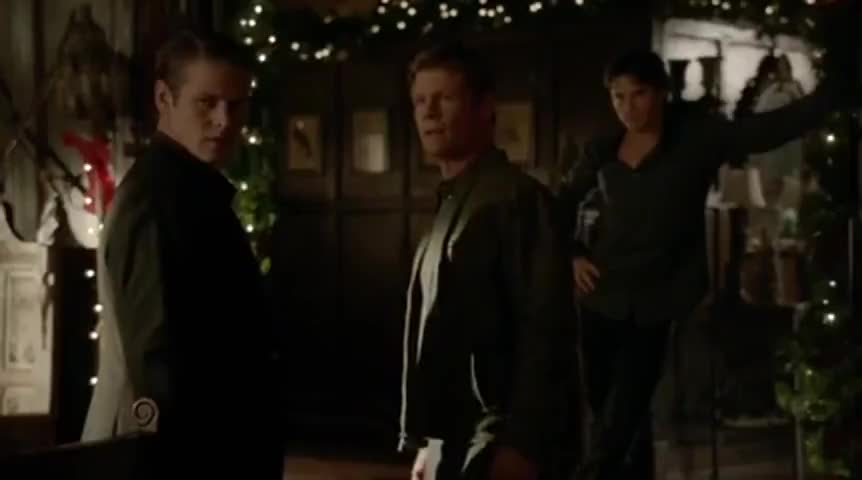 Bonnie and Enzo are late. And Stefan's dead!
