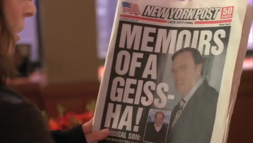 Don Geiss' estranged son, Bertram,
