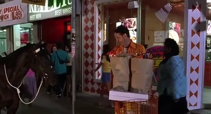 You hungry? Fuck you, nigga!