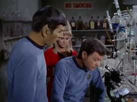 Spare me the analysis, Mr. Spock, please.