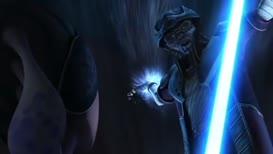 Well, cut me down, little Jedi.