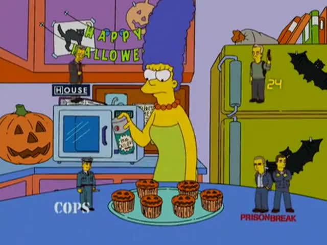 Yarn Can T Anyone Just Watch The Show They Re Watching The Simpsons 1989 S19e05 Comedy Video Clips By Quotes Clip 31b3249c 642a 403a B6c7 153cd378ac3f 紗