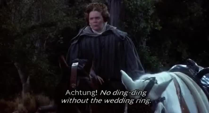 Yarn No dingding without the wedding ring Robin Hood Men in