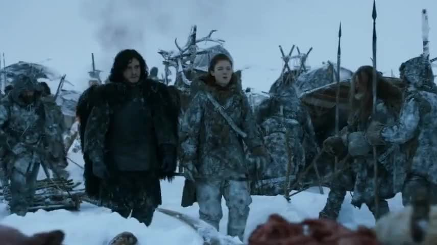Don't look so grim, Jon Snow.