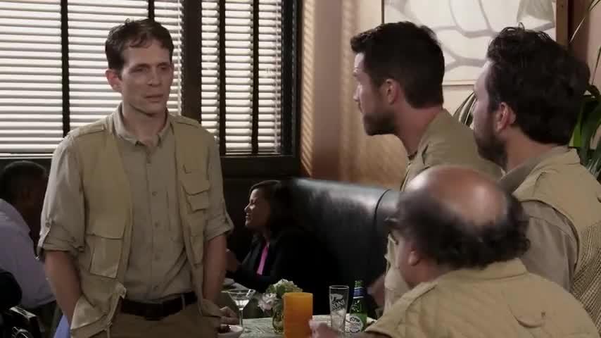 -Yeah, it's worth a shot. -Yeah!