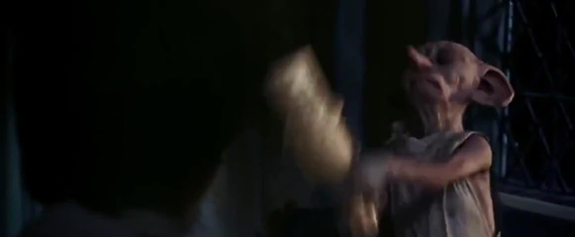 - Bad Dobby! Bad! - Stop it!