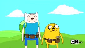 FINN: That's gross! JAKE: I don't know why they