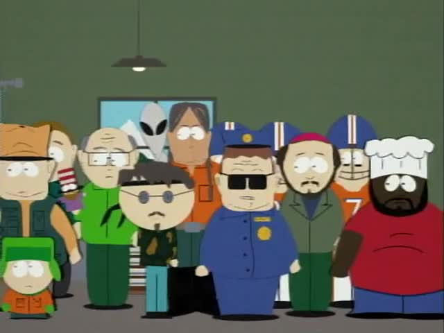 I can finally reveal who the father of Eric Cartman is.