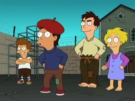 - Stupid as a French guy! - One Eye, One Eye, One Eye, One Eye...