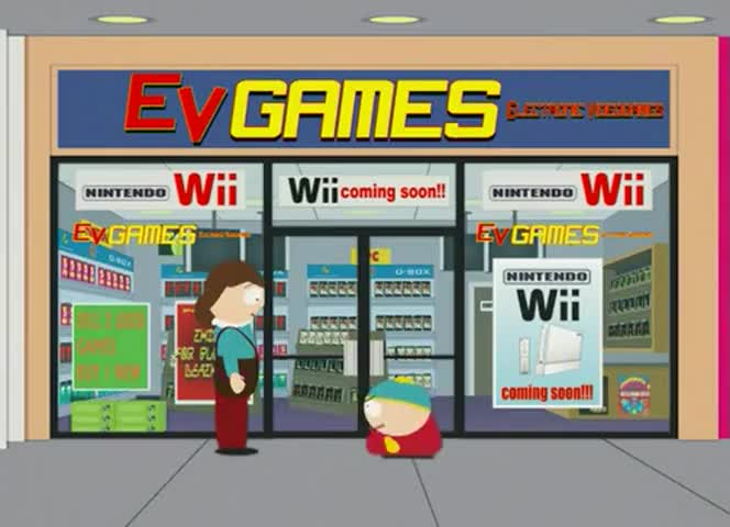 I'm waiting for the new Nintendo Wii to come out.