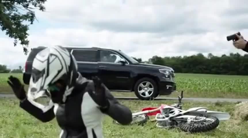 Remove that helmet.