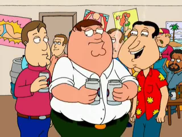 Clip image for '- Don't feel bad, Peter. - Gee. I never thought of it like that.