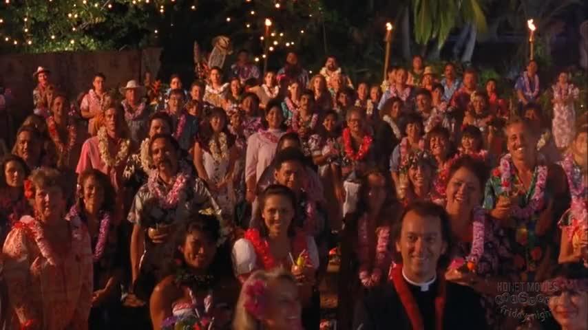 ...please give a warm Hawaiian welcome...