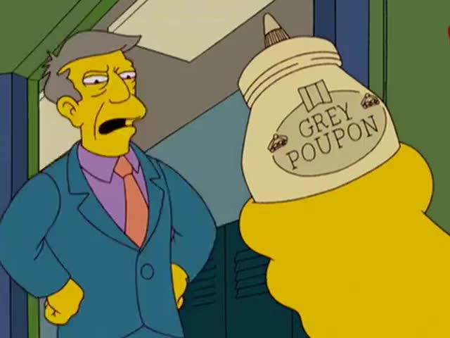 "I'll teach you to make a Poupon ""me. """
