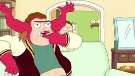Morty Jr.! Smoking?!