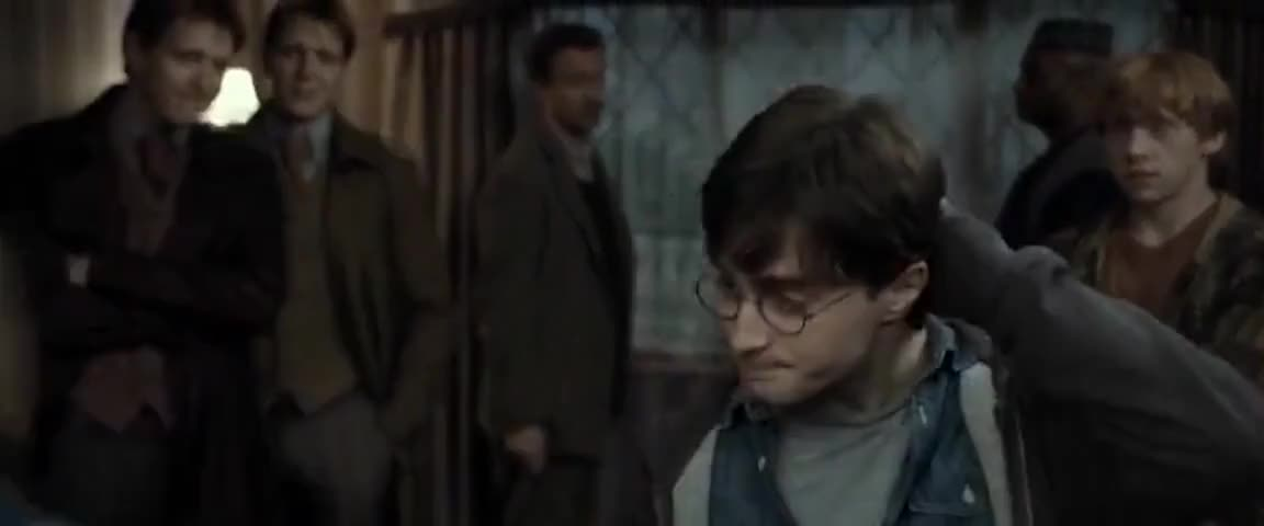 - Blimey, Hermione. MOODY: Straight in here, if you please.