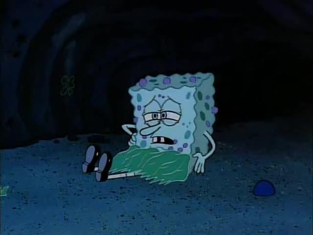 Yarn | Itchy    why am I so itchy? ~ SpongeBob SquarePants