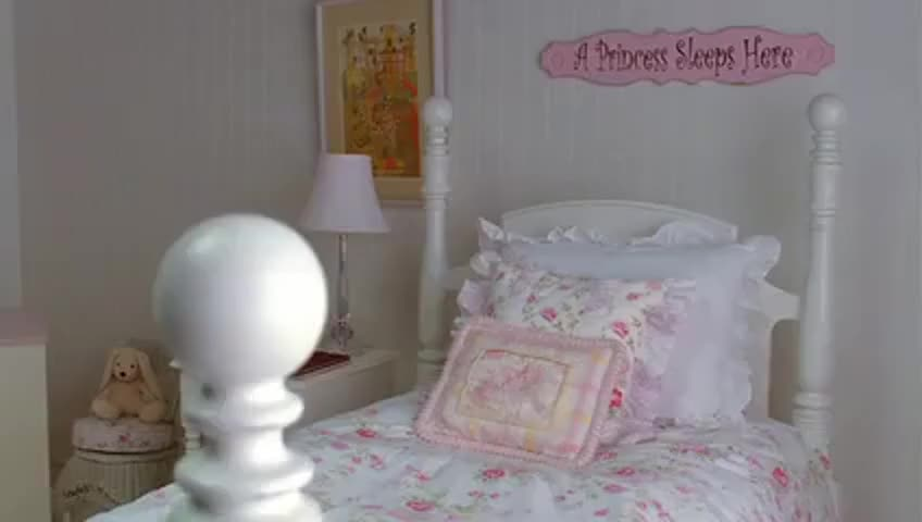 This is where our daughter or gay son will sleep.