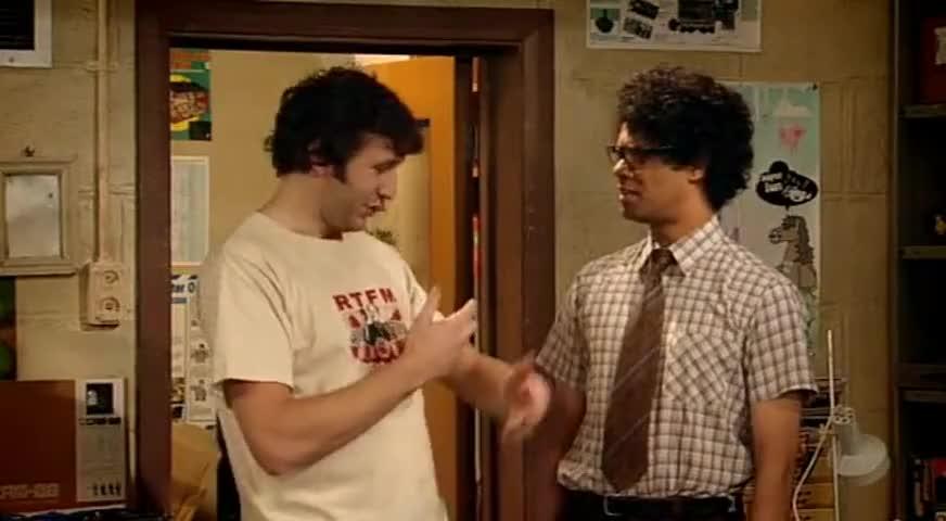 Clip image for 'Shut up, Morris!
