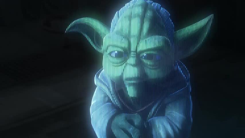 Not as a Jedi.