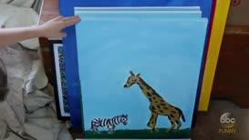 """""""Zebra in Top Hat,"""""""