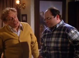 Morty Seinfeld? He's a bum.