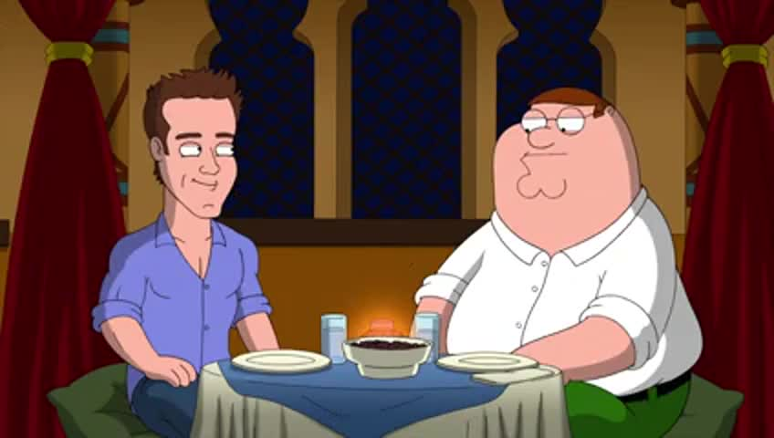 Aw, Peter, Moroccan food is the jizz.