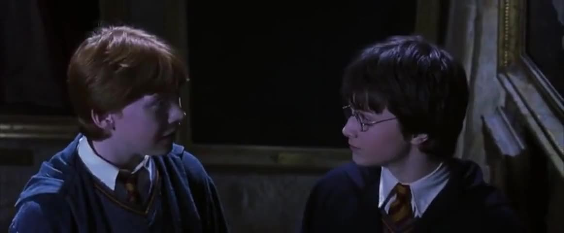 No, Harry. Even in the wizarding world, hearing voices isn't a good sign.