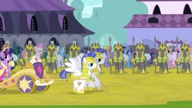 The light in Equestria shimmers