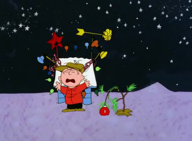 Charlie Brown Christmas Tree Quote.Yarn Everything I Touch Gets Ruined A Charlie Brown