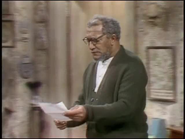 "See here? ""Lamont Sanford. """