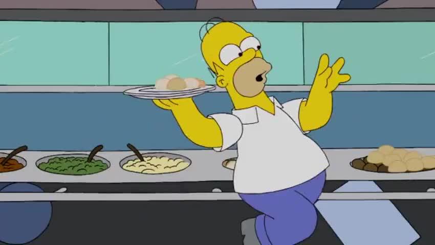 Â♪ homer simpson wins a gold, sliding rocks on ice, bao bao! Â♪