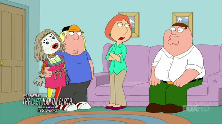 Oh, Lois, your breath smells like eggs. Talk that way.