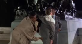 - Get your hands off me! - Hey, man, I told ya he's okay.