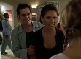 - You crazy freak! - Vapid whore.
