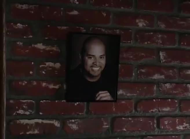 And this is Sinbad's house, and you my bitch!