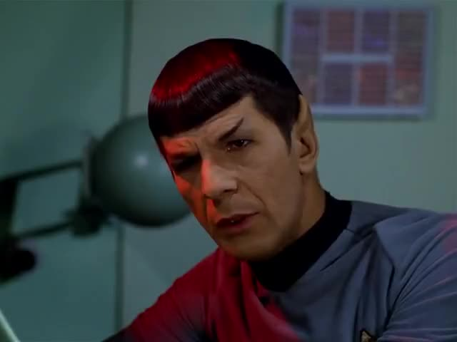 Shut up, Spock! We're rescuing you.