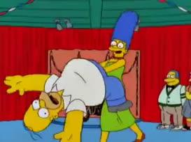 [ Homer Screaming ]