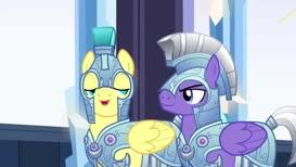 Crystal Hoof is nearly as entertaining as Spike himself!