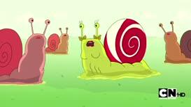 snail. I'm a slug.